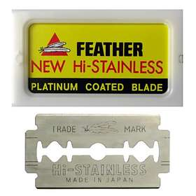 Feather Hi-Stainless Double Edge 50-pack