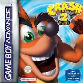 Crash Bandicoot 2: N-Tranced (GBA)