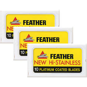 Feather Hi-Stainless Double Edge 30-pack