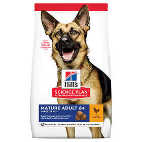 Hills Canine Science Plan Mature Adult 6+ Large 12kg