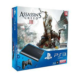 Sony PlayStation 3 Slim 500Go (+ Assassin's Creed 3)