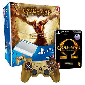Sony PlayStation 3 Slim 500Go (+ God of War: Ascension) - White Edition