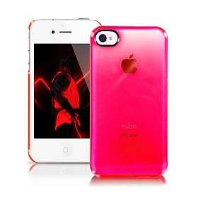 Puro Crystal Fluo Cover for iPhone 4/4S