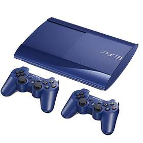 Sony PlayStation 3 Slim 500Go (+ 2nd DualShock) - Blue Limited Edition