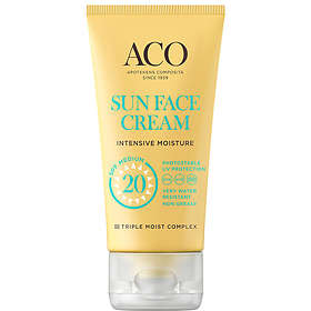 ACO Face Sun Cream SPF20 50ml