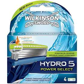 Wilkinson Sword Hydro 5 Power Select 4-pack