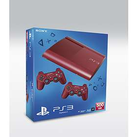 Sony PlayStation 3 Slim 500GB (incl. 2nd DualShock) - Red Limited Edition