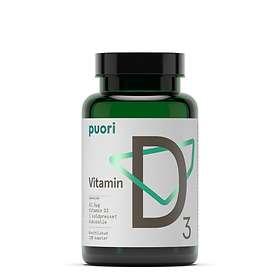 Puori D3 D-vitamin 2500 IE 120 kapslar