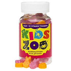 Acrilex Kids Zoo Kalcium + Vitamin D 60 Tabletter