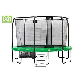 Exit JumparenA Oval All-in with Safety Net 244x380cm