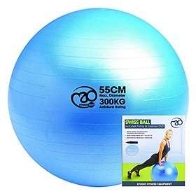 Fitness-Mad 300kg Anti Burst Swiss Gymboll 55cm