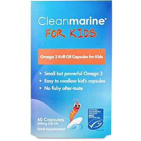Cleanmarine Krill Oil for Kids 60 Capsules