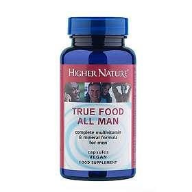 Higher Nature True Food All Man 180 Capsules