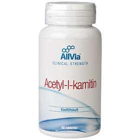 AllVia Acetyl-l-karnitin 60 Tabletter
