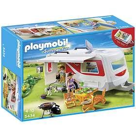 Playmobil Vacation 5434 Family Caravan