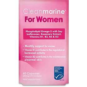 Cleanmarine Krill Oil For Women 60 Capsules