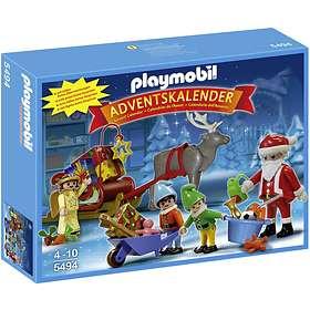 Playmobil Christmas 5494 Tomtens Verkstad Advent Calendar 2013