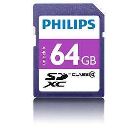 Philips SDXC Class 10 64GB