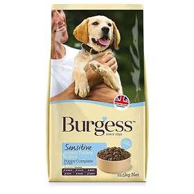 Burgess Sensitive Puppy Complete British Turkey & Rice 12.5kg
