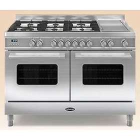 Britannia Delphi 120 Twin Dual Fuel (Stainless Steel)
