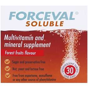 Forceval Soluble 30 Tablets