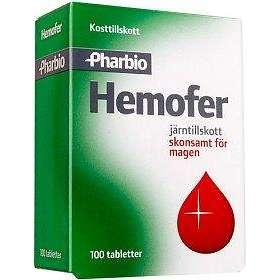 Pharbio Hemofer 100 Tabletter