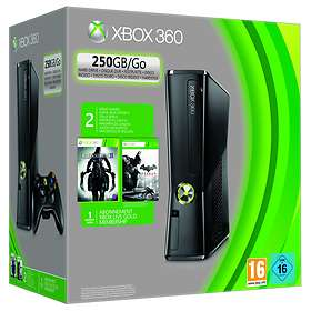 Microsoft Xbox 360 Slim 250Go (+ Batman Arkham City + Darksiders II)