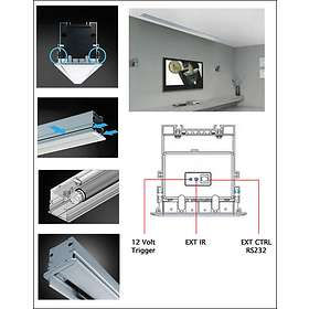 """Grandview Cyber Recessed-Ceiling 16:9 120"""" (266x149)"""