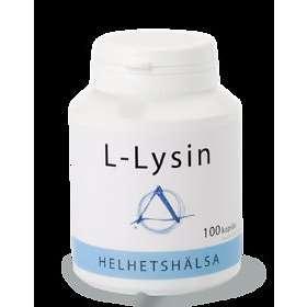 Helhetshälsa L-Lysin 100 Kapslar