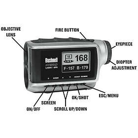 Bushnell Hybrid GPS Golf Laser Range Finder