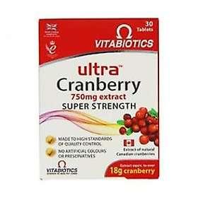 Vitabiotics Ultra Cranberry 30 Tablets