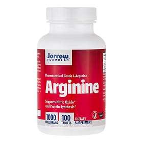 Jarrow Formulas Arginine 1000mg 100 Tabletter