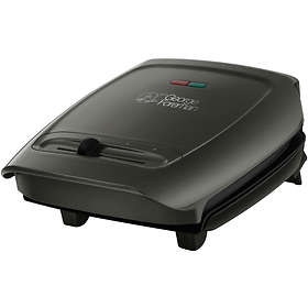 George Foreman Compact 3 Portion Variable Temperature Grill