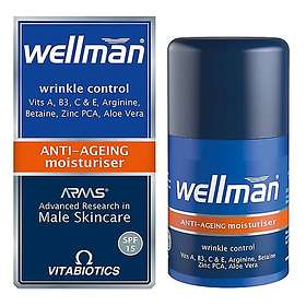 Vitabiotics Wellman Anti-Ageing Moisturiser 50ml