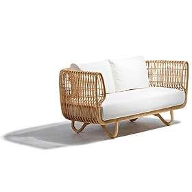 Cane-Line Nest Soffa (2-sits)