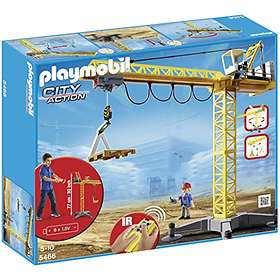 Playmobil Construction 5466 Large Crane with IR Remote Control