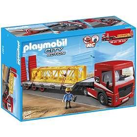 Playmobil Construction 5467 Heavy Duty Flatbed Trailer