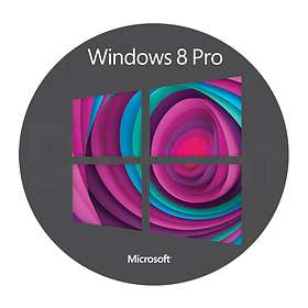 Microsoft Windows 8 Pro Fra (64-bit OEM)