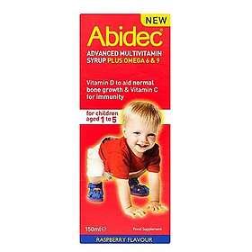 Abidec Multivitamin & Omega 3 Syrup 150ml