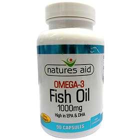 Natures Aid Fish Oil Omega 3 1000mg 90 Capsules