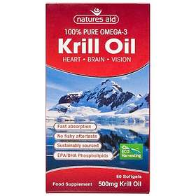 Natures Aid Krill Oil 500mg 60 Capsules
