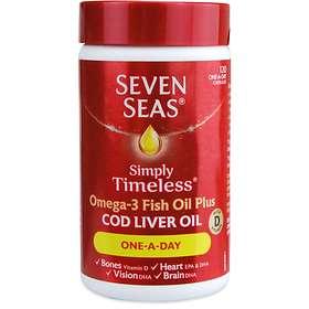 Seven Seas Pure Cod Liver Oil 120 Capsules