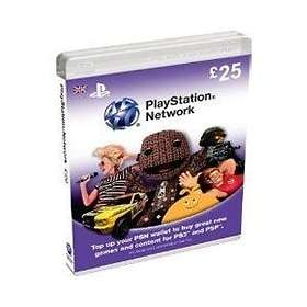 Sony PlayStation Network Card - 25 GBP