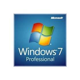 Microsoft Windows 7 Professional SP1 Fra (64-bit OEM)