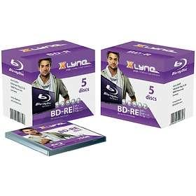 Xlyne BD-R 25GB 2x 5-pack Jewelcase