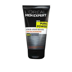 L'Oreal Men Expert Pure Power x2000 Beads Anti-Blackhead Scrub 150ml