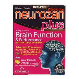 Vitabiotics Neurozan Plus 56 Tablets
