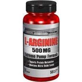 Vitamin World Precision Engineered L-Arginine 500mg 50 Capsules