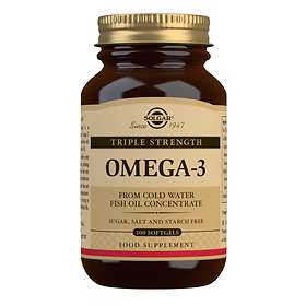 Solgar Triple Strength Omega-3 100 Capsules