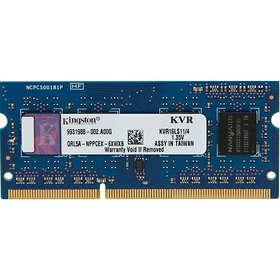 Kingston ValueRAM SO-DIMM DDR3L 1600MHz 4GB (KVR16LS11/4)